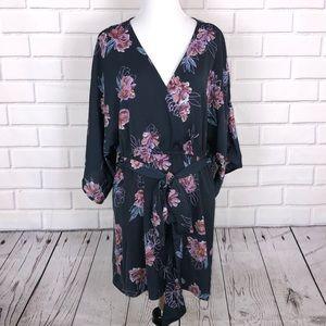 New Jessica Simpson Maternity Shirt Sz XL Floral